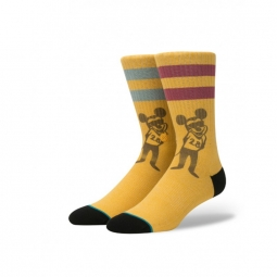 Chaussettes stance disney mens pope mouse gold l