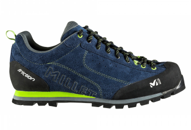Image of Chaussures d approche millet friction bleu homme 45 1 3