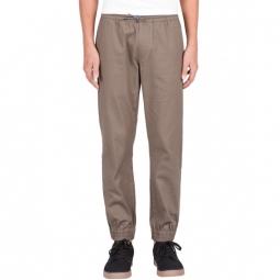 Pantalon Volcom Frickin Slim Jogger - Khaki