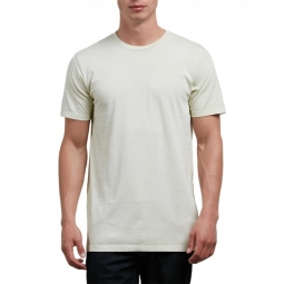 t shirt volcom pale wash solid ss t clay s