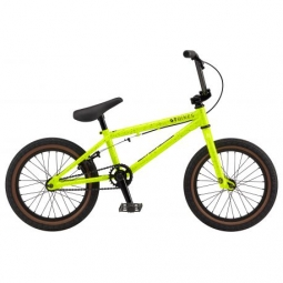 bmx gt performer 16 neon yellow 2017