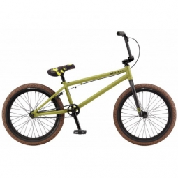 bmx gt wise team olive green 21 2017