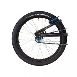 Roue arriere gt pro serie micro 18 black