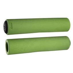 Paire de grips ODI F-1 series float Vert