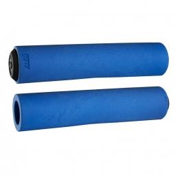 Paire de grips ODI F-1 series float Bleu