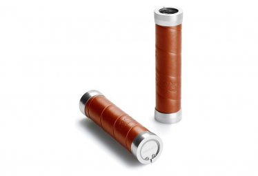Brooks Slender Leather Grips 130-130 mm Honey