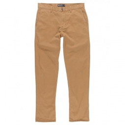pantalon element howland classic bronco brown 26