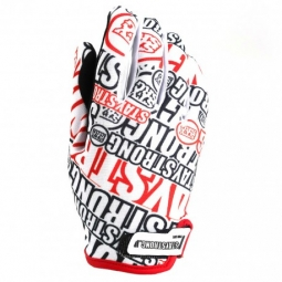 Gants stay strong og white red xl