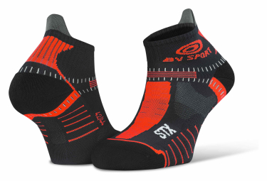 BV Sport STX Evo Socks Black Red