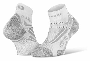 Paire de Chaussettes BV Sport RSX Evo Blanc Gris