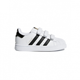 Chaussures adidas superstar cf l white black 20