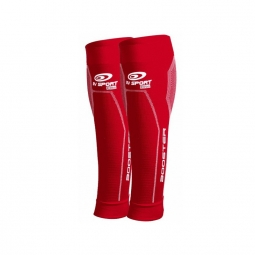 Bv sport manchons booster elite rouge l plus