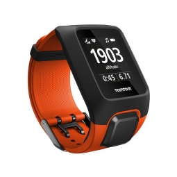 montre gps tomtom adventurer cardio music orange