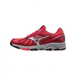 chaussures femme mizuno wave mujin 3 rouge 42