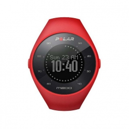 montre gps polar m200 rouge