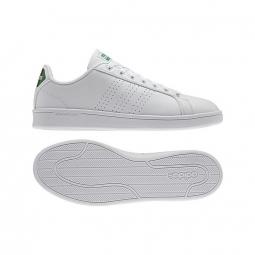 Adidas clouffoam advantage blanc vert 44