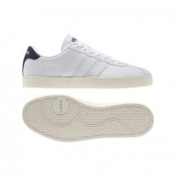 Adidas vlcourt vulc blanc bleu 44
