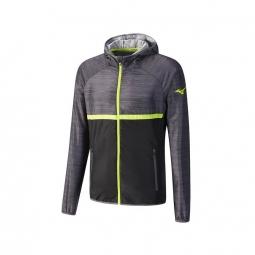 mizuno printed hoodie jacket s