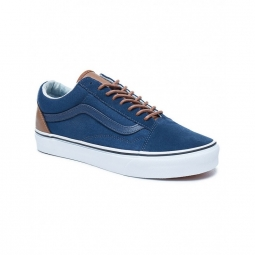 Chaussures vans u old skool c l dress blues acid denim 40