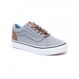 chaussures vans y old skool c l frost gray acid denim 32