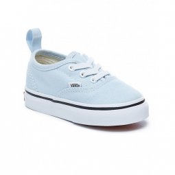 chaussures vans t authentic elastic baby blue true white 21 1 2