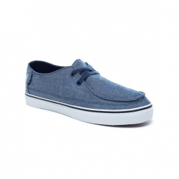 chaussures vans u rata vulc sf chambray dress blue 44