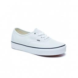 chaussures vans u authentic blue flower true white 36 1 2