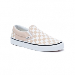 chaussures vans u classic slip on checkerboar frappe true white 36 1 2