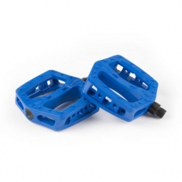 PEDALES ECLAT PLAZA PC PEDAL 9/16 BLUE