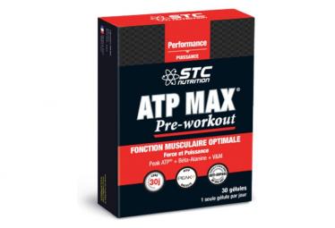 Complément Alimentaire STC Nutrition - ATP MAX PRE-WORKOUT - 30 gelules