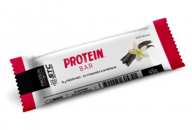 Barre Protéinée STC Nutrition - Protein Bar - 5 barres de 45 g - Vanille