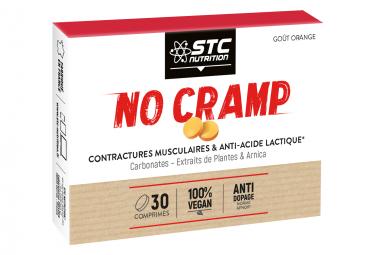 STC Nutrition - NO CRAMP - 30 Chewable Tablets - Orange