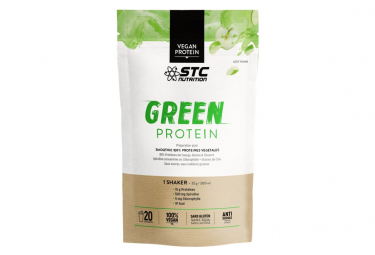 Stc nutrition   proteina verde   smoothie 500g doypack   appel peach