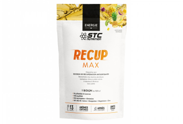 STC Nutrition - Recup Max - Tarro de 525 g - Frutas exóticas
