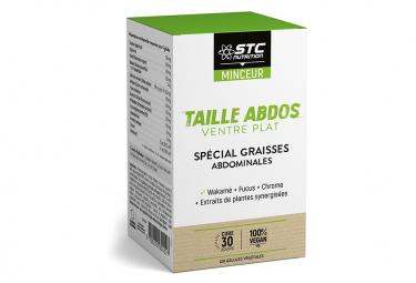 Complément Alimentaire STC Nutrition - Taille Abdos Ventre Plat - 120 gélules