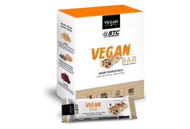 Barre Énergétique STC Nutrition - VEGAN Bar - 5 barres de 35g - Cacahuètes & Cranberry