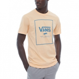 T shirt vans m print box apricot ice m
