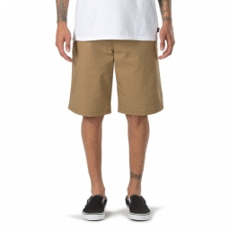 Short vans m authentic stretch dirt 31
