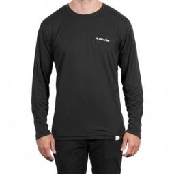T shirt tall order long sleeve breathe tech black l