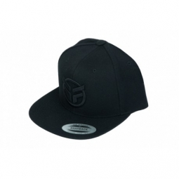 casquette federal embroidered logo snapback black black