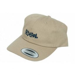 Casquette federal dad khaki