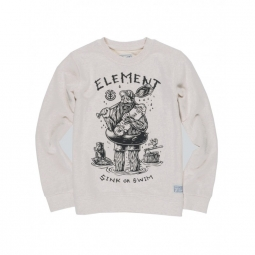 Sweat Element River Keeper Cr Boy - Oatmeal Heather