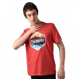 T shirt element dusk ss aurora red heather xl