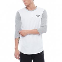 T shirt vans m cajon white cement heather m