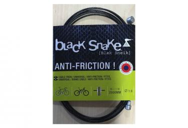 Cable frein universel teflon Black Snake tete ronde