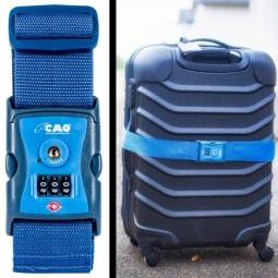 Sangle bagage TSA CAO à combinaison 3 chiffres