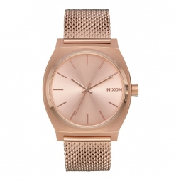 Montre Nixon Time Teller Milanese - All Rose Gold