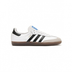 Chaussures adidas samba og white core black gum 42
