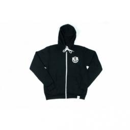 Sweat federal logo zip hood black taille xl m