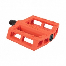 PEDALES FEDERAL CONTACT PLASTIC ORANGE